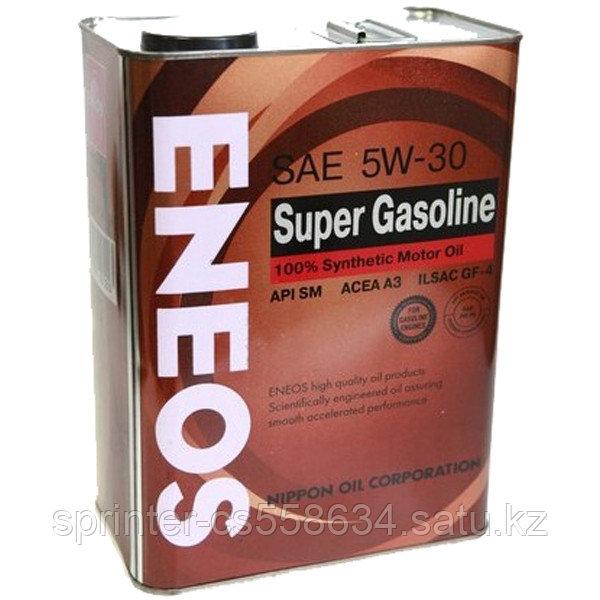 Моторное масло ENEOS SUPER GASOLINE 5w30 4 литра