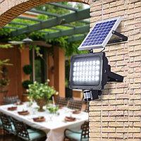 Прожектор с солнечной батареей и датчиком движения, 30 Вт, фото 1