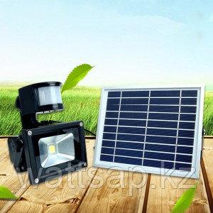Прожектор с солнечной батареей и датчиком движения, 50 Вт