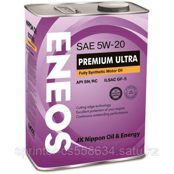 Моторное масло ENEOS PREMIUM  ULTRA 5w20 4 литра