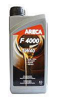 Моторное масло ARECA F4000 5w40 1 литр
