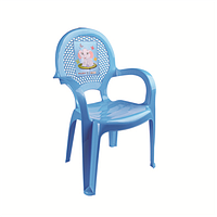 Детский стульчик DDStyle 06205 голубой