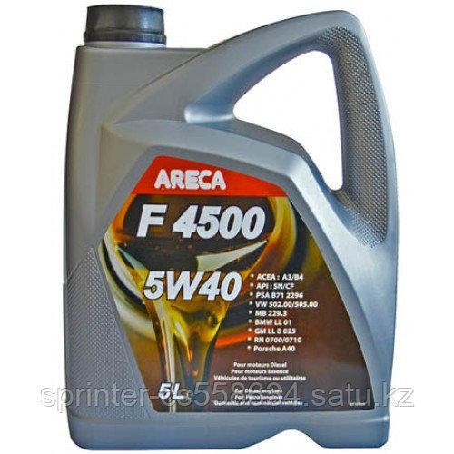 Моторное масло ARECA F4500 5w40 5 литров