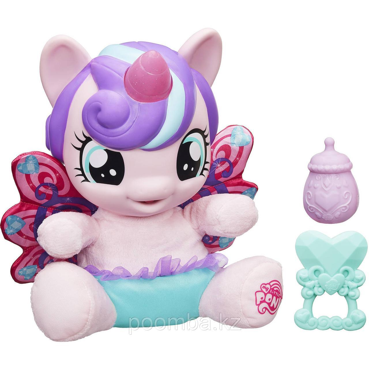"""Пони малышка """"My Little Pony"""" - Flurry Heart (свет, звук)"""