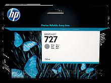 HP B3P24A Gray Ink Cartridge №727