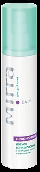 MIRRA Лосьон тонизирующий для сухой и нормальной кожи с пептидами шелка и женьшенем