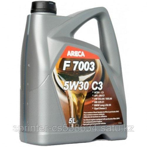 Моторное масло ARECA F7003 C3 5w30 5 литров