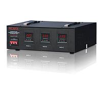 Стабилизатор напряжения трехфазный Ресанта АСН 4500/3 ЭМ, фото 1