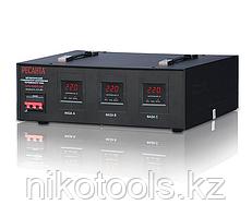 Стабилизатор напряжения трехфазный Ресанта АСН 4500/3 ЭМ