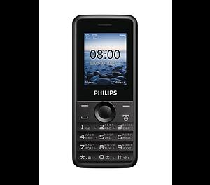 Мобильный телефон Philips E103 черный