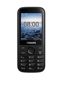 Мобильный телефон Philips E160 черный