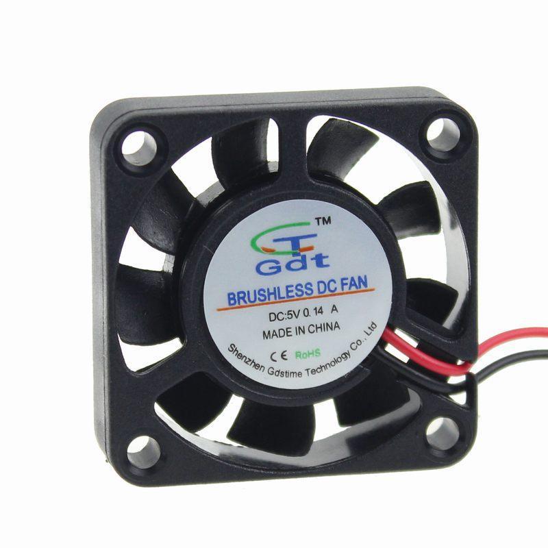Вентилятор  5v  0,14A 50x50x10 Gdt 2pin