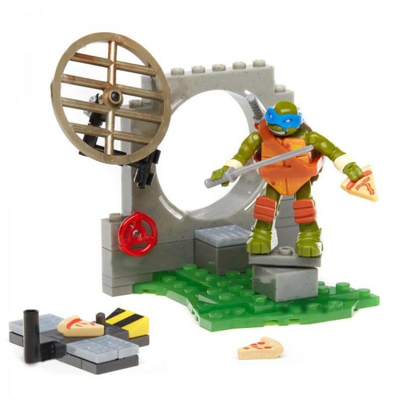 Mega Bloks Черепашки-ниндзя Тренировочный Лагерь Леонардо