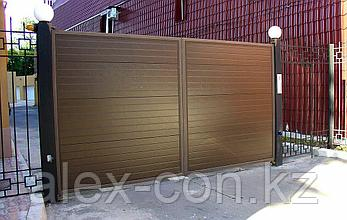 Ворота распашные, фото 2