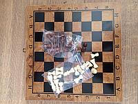 Шахматы 3 в 1 (29 х 29 см), фото 1