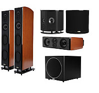 Комплект для домашнего кинотеатра 5.1 на акустике Polk Audio серии LSI, фото 1