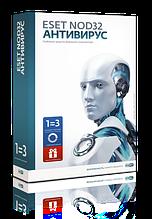 ESET NOD32 Антивирус (BOX)1 год/3 ПК или Продление на 20 месяцев