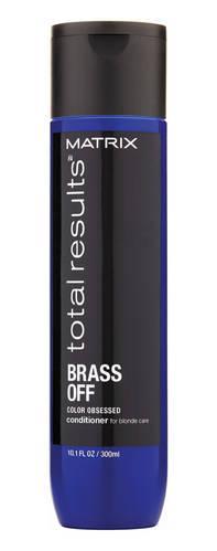 Кондиционер  для глубокого питания Холодный блонд Matrix Total Results Brass Off 300 мл.