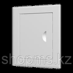 Люк-дверца ревизионная ЭРА ЛТ4040М 460*460 с фланцем 400*400 с ручкой стальная с покрытием