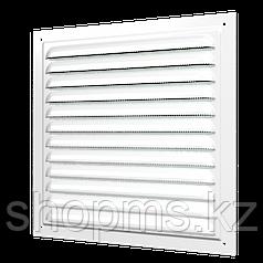 Решетка вентиляционная вытяжная стальная с покрытием полимерной эмалью ЭРА 1212 МЭ 125*125