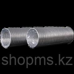 Воздуховод гибкий алюминиевый гофрированный L до 3м ф130