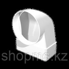Соединитель угловой ЭРА (620СК10ФП) 60*204/D100