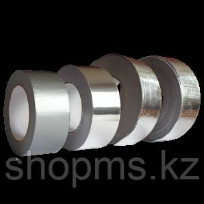 ЛМ, Лента монтажная клейкая алюминиевая, 50 мм х 50 м, 30 мкм.