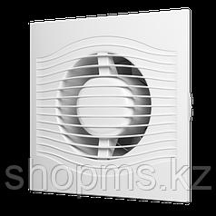 Вентилятор осевой вытяжной ЭРА SLIM 5C ф125 с обратным клапаном
