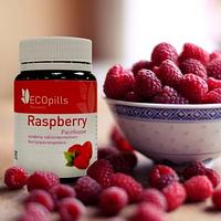 Малиновые таблетированные конфеты для похудения Eco Pills Raspberry (Эко Пилс Распберри)