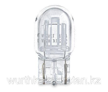 Лампа галогеновая 12V-21W безцокольная двухконт. большая