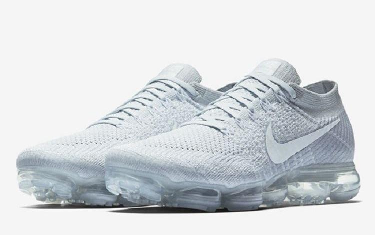 Кроссовки Nike Air Vapor Max 2018 белые