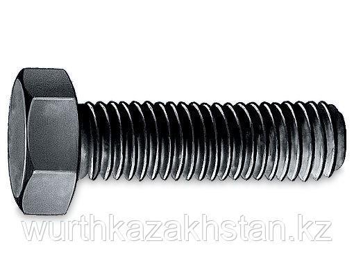 Болт M30X90, 6-и-гр по DIN933 с полной резьбой, сталь-10.9-WS46