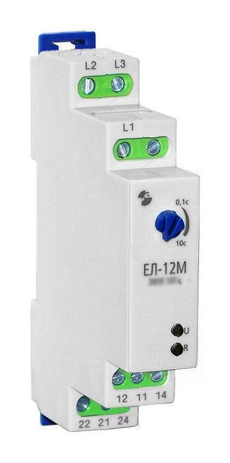 Реле контроля фаз ЕЛ-12 ~380В