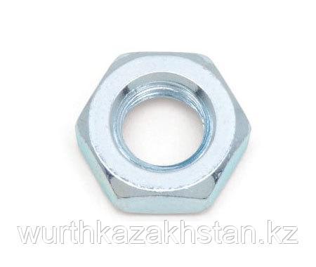 Гайка М 20 оцинкованная, сталь 8