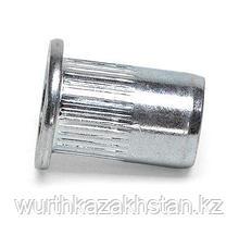 Заклепка гаечная М8, зажим 0,5-3,0мм, оцинк.сталь