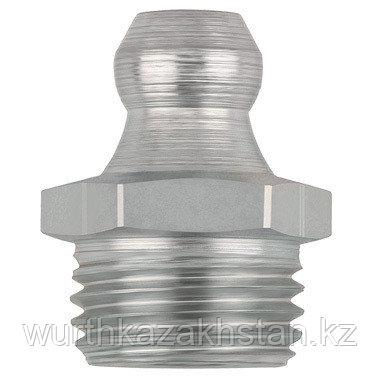 Пресс-маслёнка прямая M10X1,5, ключ SW 11, Lобщ-16, Lрезьб- 5,4 мм