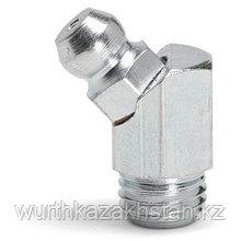 Пресс-масленка, 45° M6х1, ключ SW 9, Lобщ-20, Lрезьб- 5,5