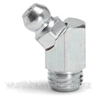 Пресс-масленка, 45° M8х1, ключ SW 9, Lобщ-16, Lрезьб- 5,4