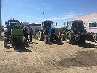Аренда трактора МТЗ 80, 82  (щетка) метелка