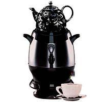 Самовар-термопот электрический с керамическим заварочным чайником [6 л; 1350 Вт]