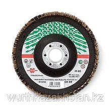 Лепестк. шлиф. диск по нерж. прям d-125mm G40