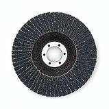 Лепестк. шлиф. диск по нерж. прям d-125mm G60, фото 2