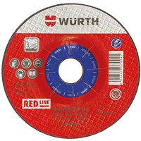 Шлифов диск -D180Х6,0/22,2MM RED сталь