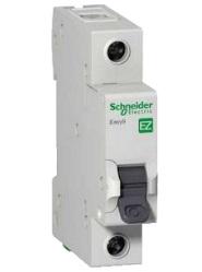 Автоматический выключатель EASY 9 1П 63А С 4,5 кА 230 В