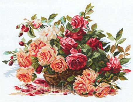 """Набор для вышивания крестиком """"Розы"""" 2-06"""