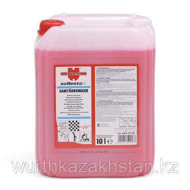 Санитарный красный 1 л. очиститель