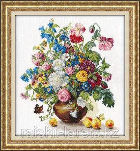 """Набор для вышивания крестиком """"Поэзия цветов.Благоухание лета"""" 2-23"""