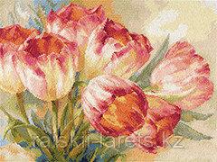 """Набор для вышивания крестиком """"Тюльпаны"""" 2-29"""