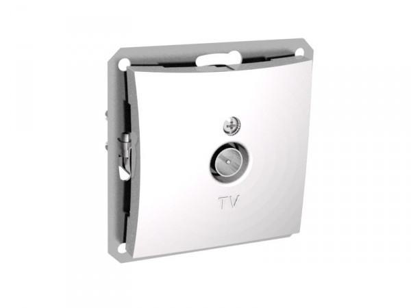 TV антенна коннектор 0,7DB мех-м, белый