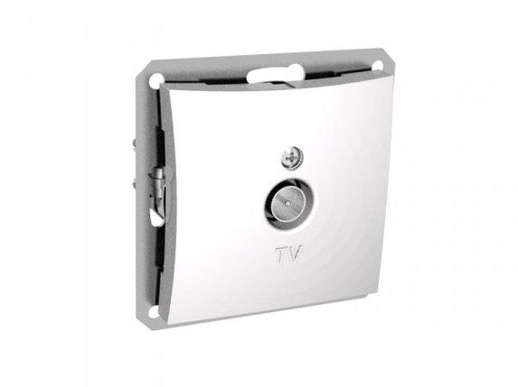 TV антенна коннектор 0,7DB мех-м, белый, фото 2